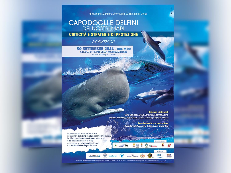 Workshop: capodogli e delfini dei nostri mari - criticità e strategie di protezione