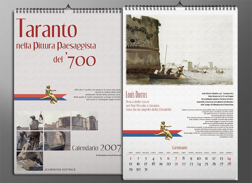 Taranto nella pittura paesaggista del 700