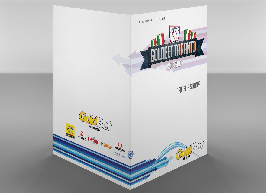 GoldBet Taranto - Cartellina Stampa
